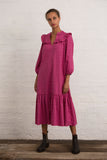 Magenta Vintage Ditsy Pimlico Dress