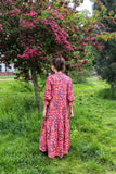 Liberty Columbia Road Floral Cotton Camden Passage Dress