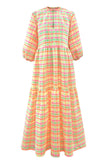 Rainbow Gingham Camden Passage Dress