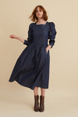 Denim Cotton Riding House Dress