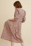 Liberty Chamomile Lawn Cotton Riding House Dress