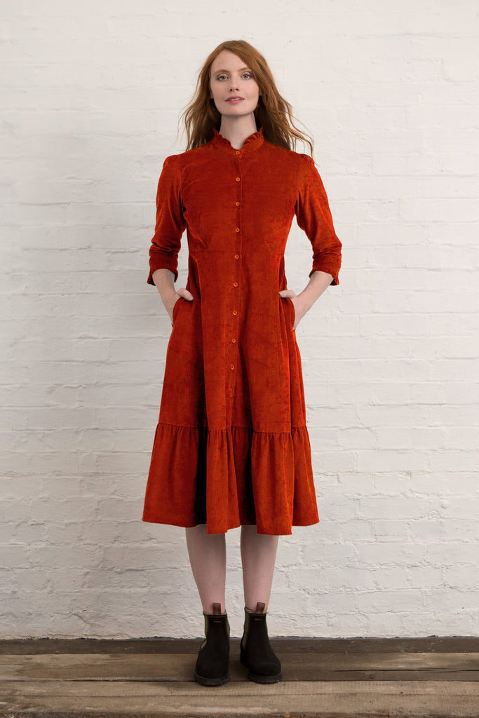 Marmalade Corduroy Saltaire Shirt Dress