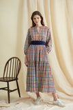 Spring Check Camden Passage Dress
