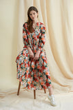 Pink Waterfloral Camden Passage Dress