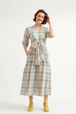 Sorbet Check Margate Dress