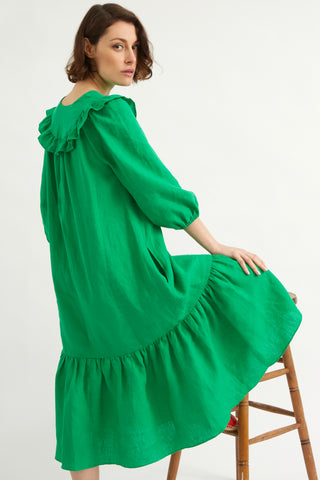 Peapod Linen Pimlico Dress