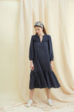 Ink Linen Pimlico Dress