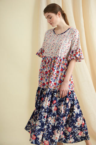 Patchwork Cotton Primrose Hill Dress
