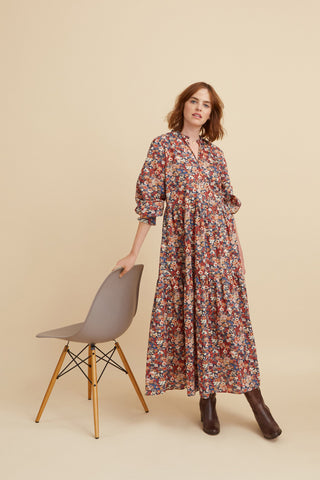 Sissinghurst Floral Camden Passage Dress