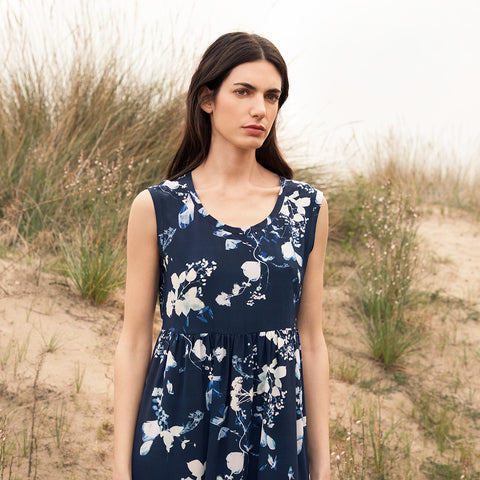 Wildflower Silk Dress