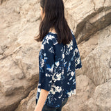 Wildflower Silk Top