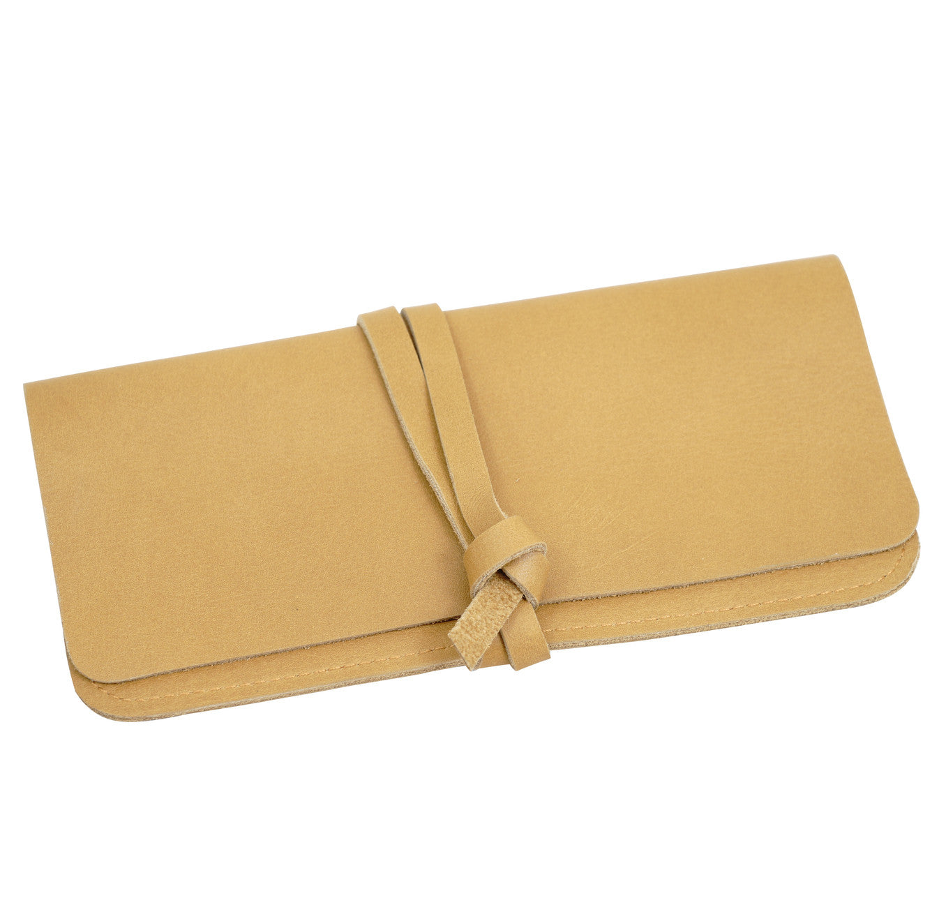 caramel pencil case purse - WE DASH LOVE