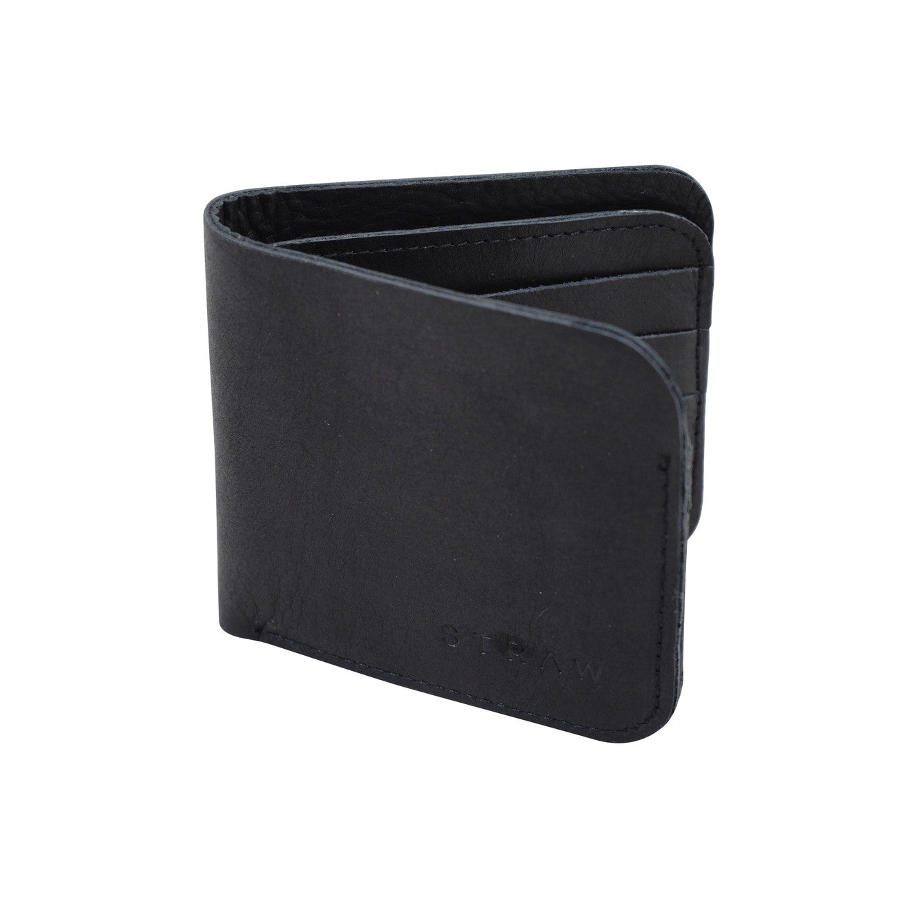 Mens Bifold Wallet Black - WE DASH LOVE