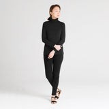 Long Sleeve Turtleneck | Black