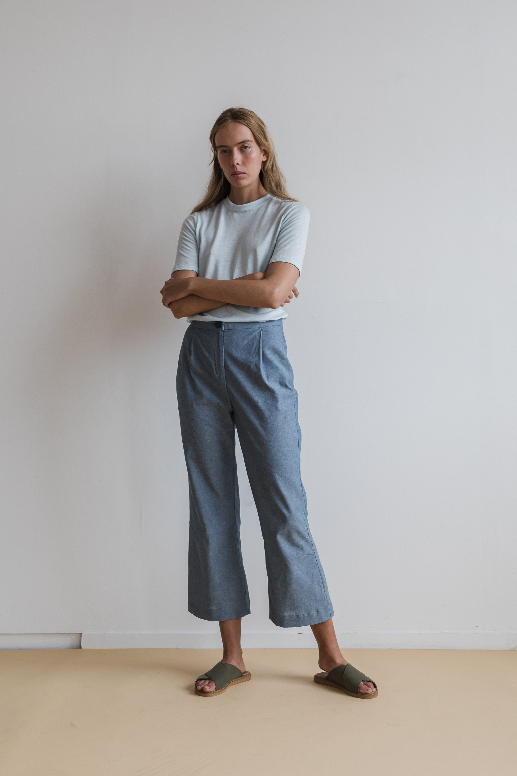 Kiln Tailored Pant - Chambray