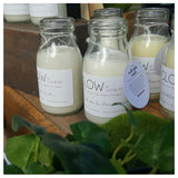 Eco Soy Wax Milk Bottle Candle