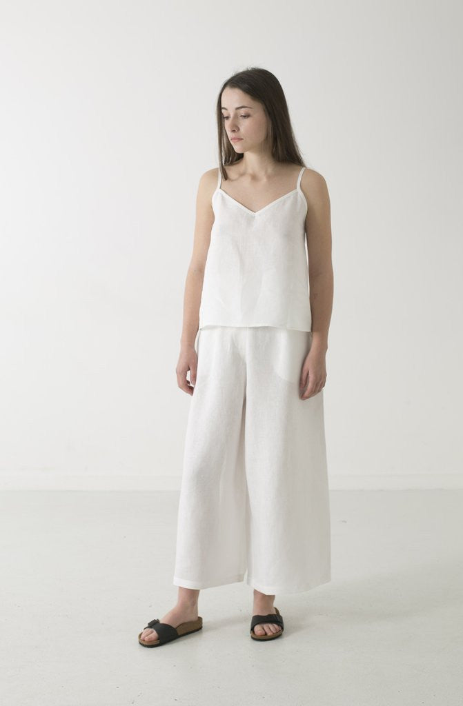 Hemp Linen Singlet - WE DASH LOVE