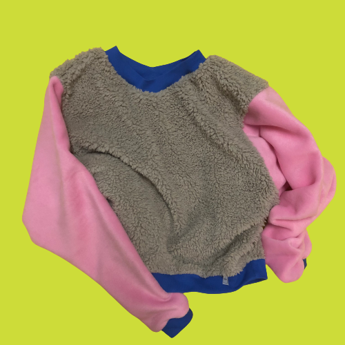 Exclusive Upcycling Cropped Sweatshirt #3