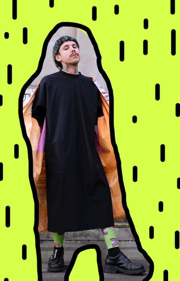 Big Kaftan / Tunique BLACK