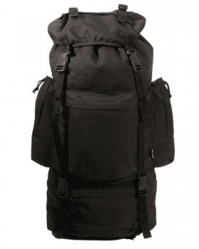 Rucksack Ranger 75 Liter PES Schwarz - Explorer International Ltd