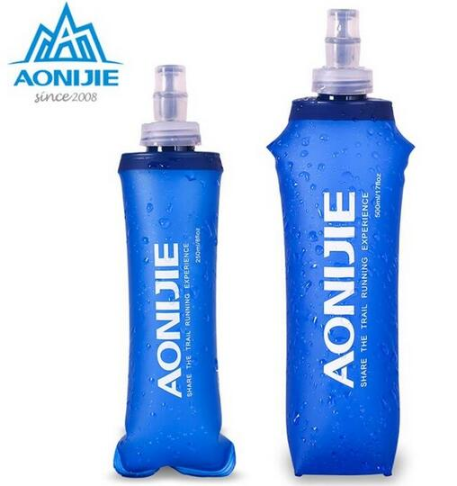 AONIJIE Silicone Water Bag Outdoor Sport Camping Climbing Folding Water Bags 170ml 500ml 250ml Drink Cycling Travel Bottles - Explorer International Ltd