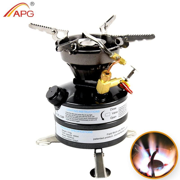 APG newest mini liquid fuel camping gasoline stoves and portable outdoor kerosene stove burners - Explorer International Ltd