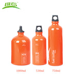 BRS Aluminum Alloy Fuel Bottle Petrol Kerosene Diesel Bottle Alcohol Liquid Gas Storage Bottle For Outdoor Camping Picnic Stove - Explorer International Ltd