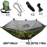 Mosquito Net Army Hammock Mosquito Net Camping Hamaca Hammack Ultralight Outdoor Camping Hunting Mosquito Net | Prepper Profi und Krisenvorsorge