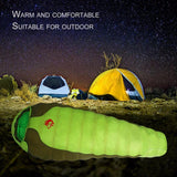 Winter Sleeping Bag Cold Temperature Sleeping Bag for Winter Portable Duck Down Nylon Sleeping Bag Outdoor Camping Sleeping Bag