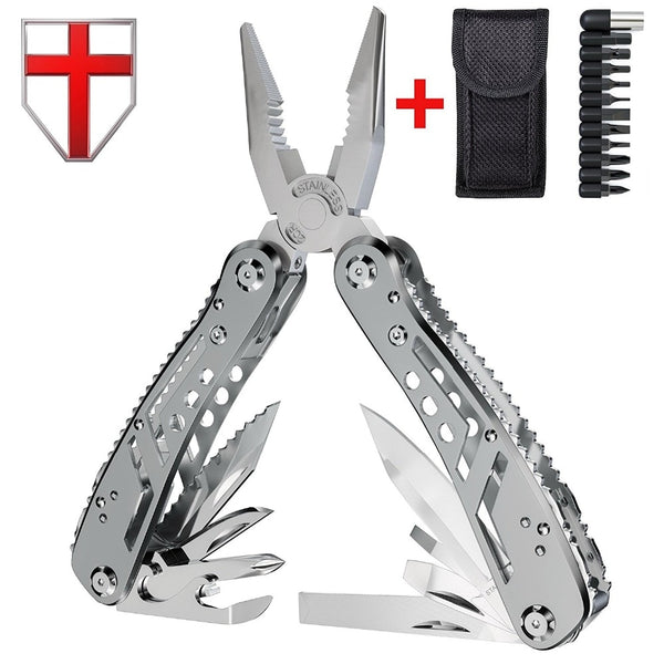 EDC Multitool with Mini Tools Knife Pliers Swiss Army Knife and Multi-tool kit for outdoor camping equipment | Prepper Profi und Krisenvorsorge
