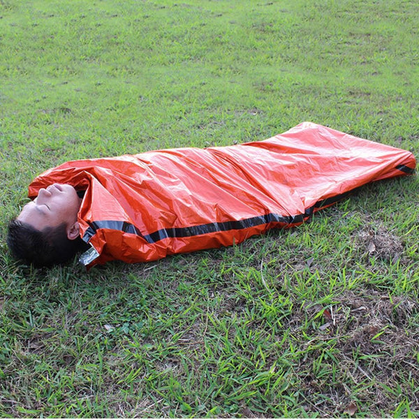Outdoor Sleeping Bags Portable Emergency Sleeping Bags Light-weight Polyethylene Sleeping Bag for Camping Travel Hiking - Explorer International Ltd