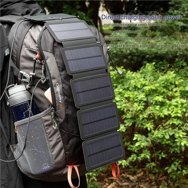 useful Solar Panels Charger Portable Solar Power Bank Outdoors Emergency 5V/1A 10W Power Charger for Mobile Phone Tablets | Prepper Profi und  Krisenvorsorge