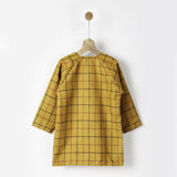 Ochre Tweed Coat