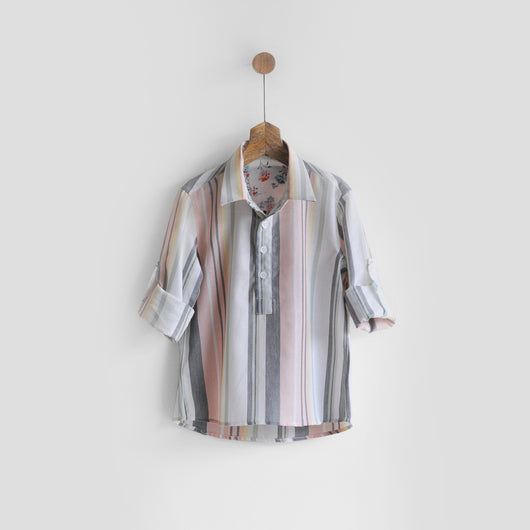 Summer Unisex Shirt Lined with Asters