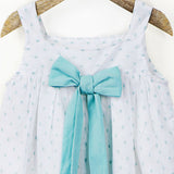 Mint Cami with Back Bow Detail Top