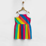 Over the Rainbow Stripes Dress