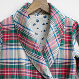 Christmas Checks Dress Jacket with Pockets