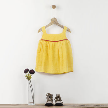 Yellow Cami with Back Bow Detail