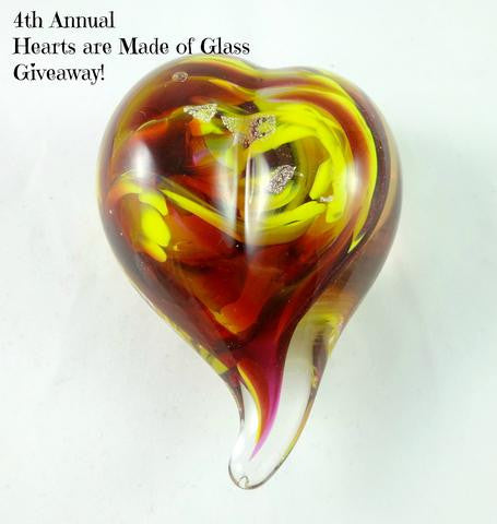 4th Annual Hearts Are Made of Glass Giveaway!