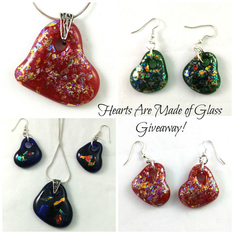 Hearts Are Made of Glass Giveaway!