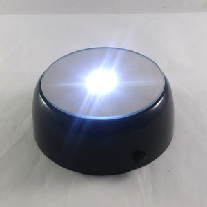 LED Light Base, Small - Make your paperweights shine!