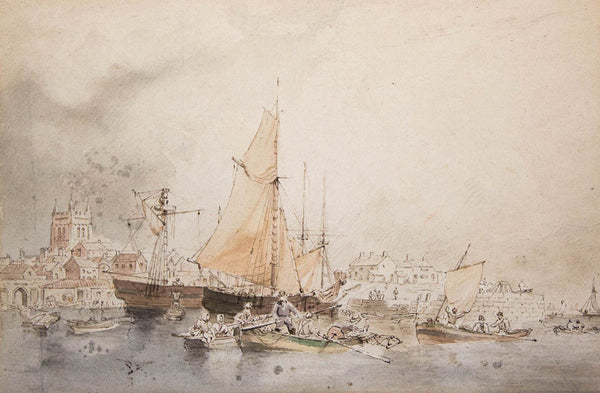 G. H. Andrews RWS - Hartlepool, 19th Century Watercolour