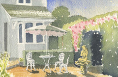 Malcolm Mitchell - Holiday at Home, 1993 Watercolour