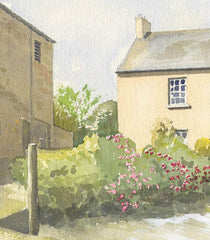 Malcolm Mitchell - Country Cottage, Original Contemporary Watercolour Painting