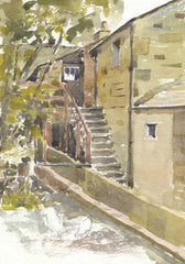 Malcolm Mitchell - Devon Mill, 1995 Watercolour