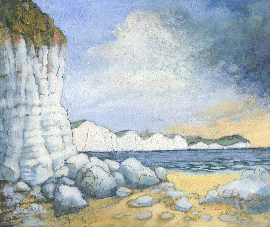 Seven Sisters - 1979 Oil Painting