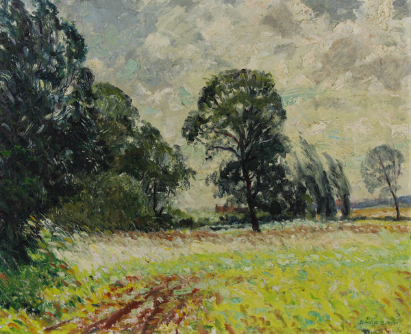 William Henry David Birch - Corner of the Meadow, Mid 20th Century Oil