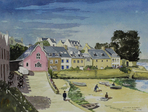 Malcolm Mitchell  - St. Marine, Brittany, 1993 Watercolour