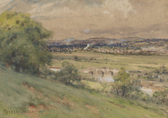 Parker Hagarty - Rural View, Early 20th Century Watercolour