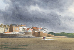 Cecil Riley - Marazion, Cornwall, 1990 Watercolour